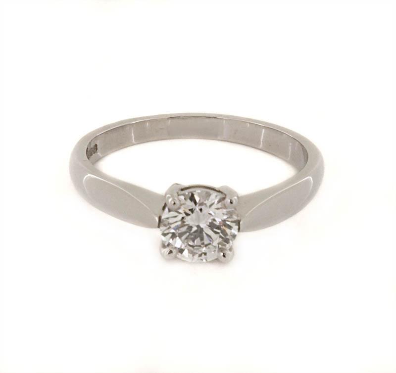 platinum engagement ring 0 80ct p o a gemma clarke design